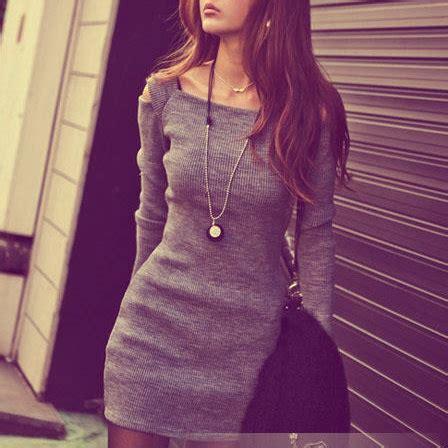 imagenes tumblr vestidos vestido gris tumblr