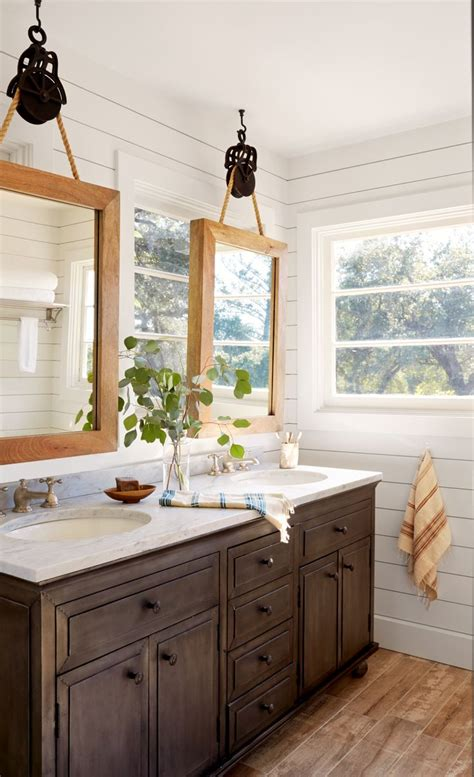 cottage mirrors for bathrooms best 25 pulley ideas on pinterest rope shelves diy