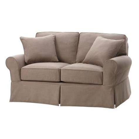 gordon tufted sofa home depot home decorators collection gordon fabric 1 sofa in