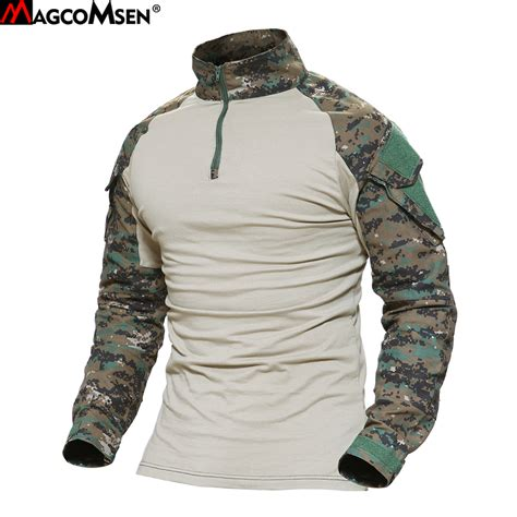 Army T Shirt Impor aliexpress buy magcomsen multicam t shirts army camouflage combat tactical t shirt
