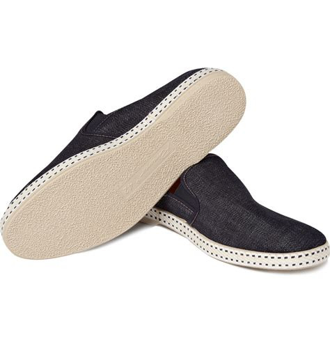 rivieras denim slip on shoes cool s shoes