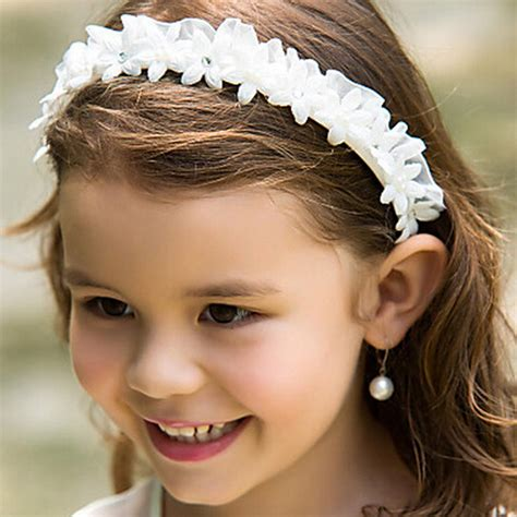 Wedding Hair Accessories For Toddlers by White Flower Headbands Wedding Hair Accessories For
