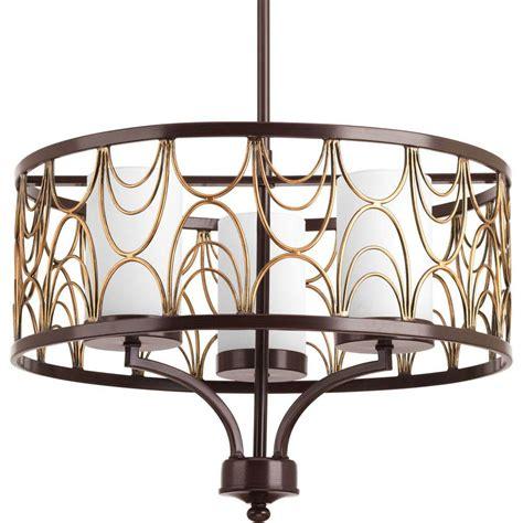 progress lighting gather collection 5 light antique bronze