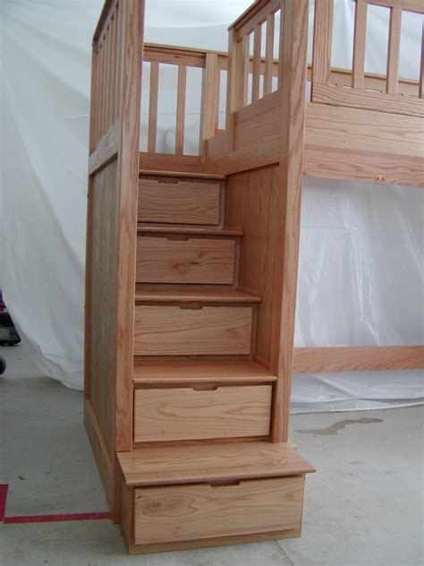 bunk bed system the step n store bunk bed system