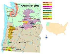 a taste of washington and oregon quentin sadler s wine page