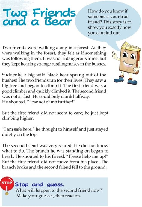 reading comprehension tests new curriculum short stories for 3rd graders online read aloud the
