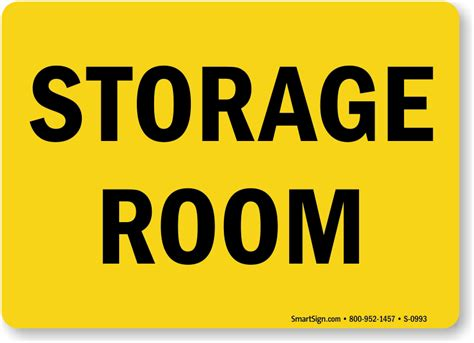 room signs for storage room signs and stock room signs storage room