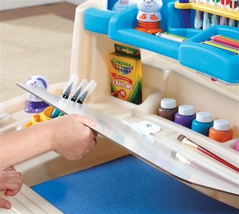 step2 deluxe desk with splat mat kohl s step2 deluxe desk as low as 41 99 reg 99