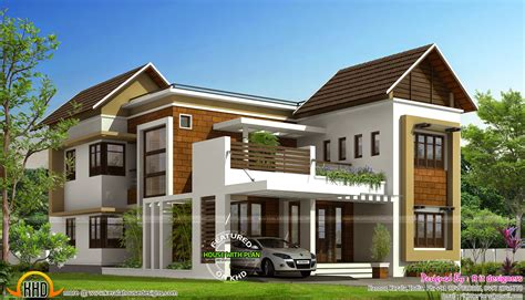 stylish house plans march 2015 kerala home design and floor plans
