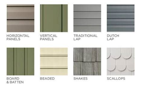 house siding styles vinyl siding styles using different profiles textures and colors