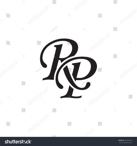 Rp Initial Monogram Logo Stock Vector 343549232   Shutterstock