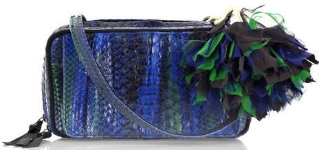 Lanvin Python Kansas Bag by Lanvin Pouchette Python Small Shoulder Bag Lulu S