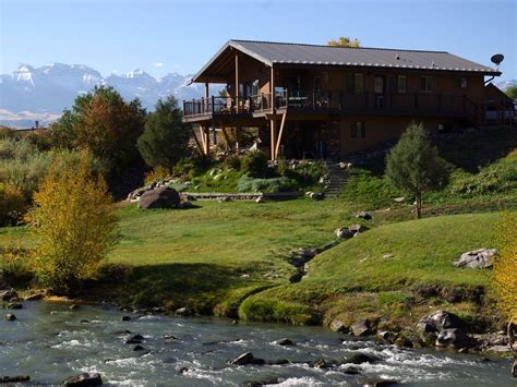house with river running through it ridgway vacation rental vrbo 511811 3 br southwest