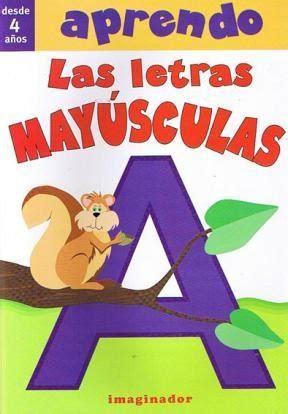 libro letras mayusculas capital aprendo las letras mayusculas de 9789507685828 lsf
