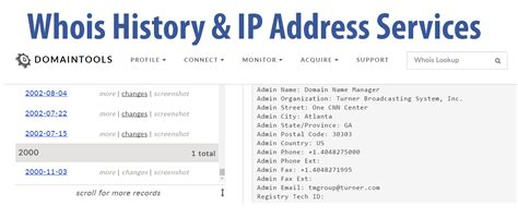 Whois Ip Address Search Whois History Ip Address Tools A Comparison By Bob