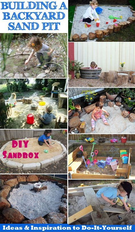 build a sandpit in your backyard building a backyard sandpit ideas inspiration to diy