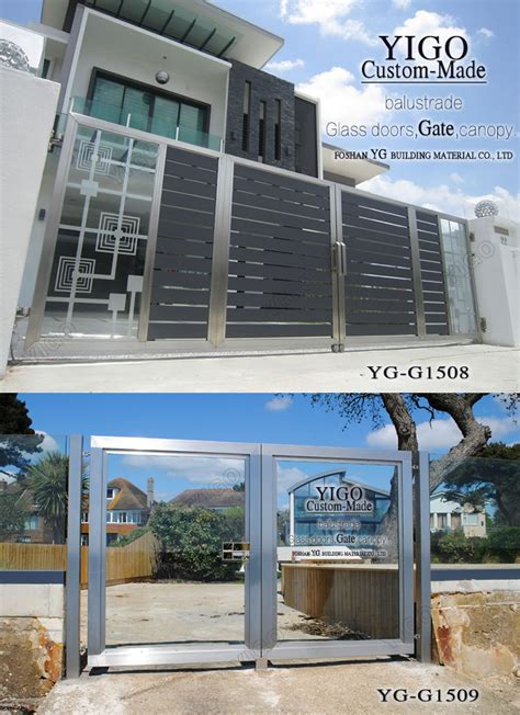 house gate designs steel gate design home view