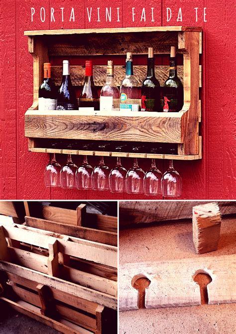 porta vini in legno fai da te come costruire il tuo porta vini e bicchieri