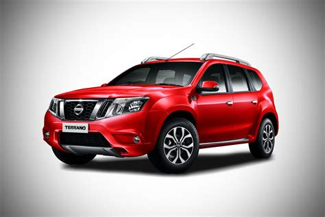red nissan 2017 2017 nissan terrano fire red autobics