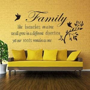decorating a tree sayings family quotes wall decals quotesgram
