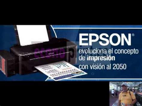 Tinta Original Epson L200 Epson L200 Sistema Continuo De Tinta Continua Original