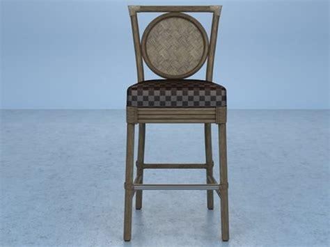 Skandinavische Sessel 322 by Salon Barstool O 322 3d Modell Mcguire Furniture Company