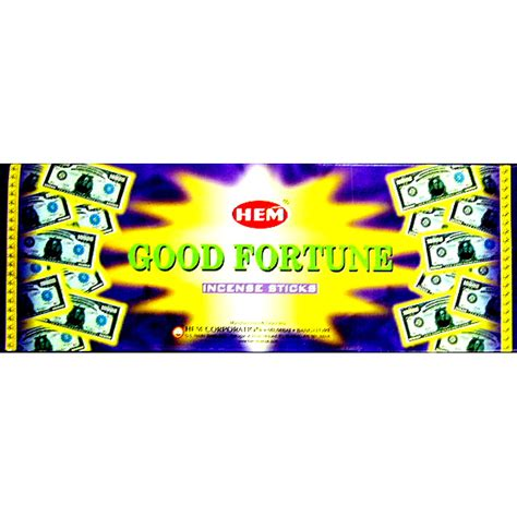 Hem Fortune hem fortune 20 stick hex box of 6 packets hem