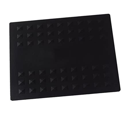 Cl On Dryer And Flat Iron Holder colortrak heat resistant styling station mat 784190900837