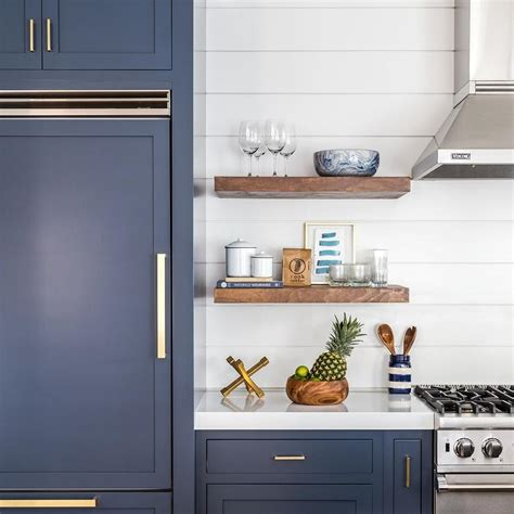 brass handles for kitchen cabinets navy shaker kitchen cabinets with brushed brass pulls
