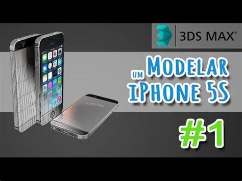 tutorial 3ds max modelar um iphone 5s parte 01