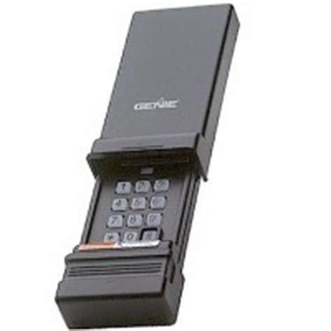 Genie Wireless Garage Door Opener by Genie Keypads
