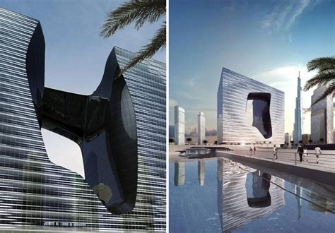 Amazing Home Interior by Zaha Hadid The Opus Building Me By Melia Hotel Dubai