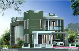 modern villa house plans contemporary villa elevation in 2100 sq house