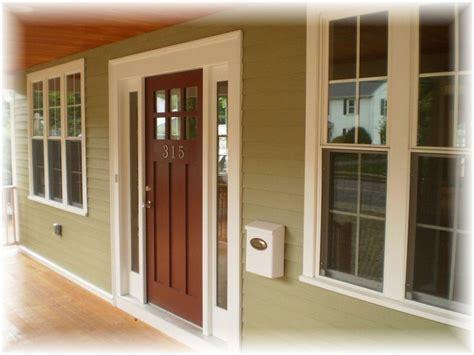 Craftsman Front Door With Sidelights Craftsman Front Doors Craftsman Style And Craftsman On