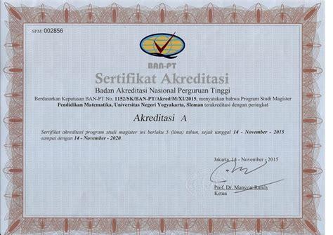 Contoh Surat Akreditasi Kus by Contoh Surat Akreditasi Ban Pt