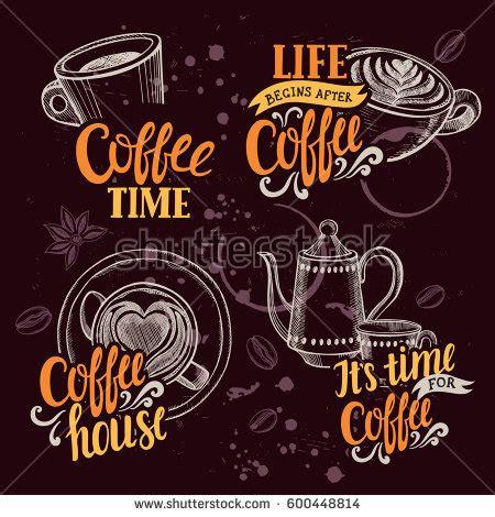 design poster for cafe chalkboard menu stock images royalty free images