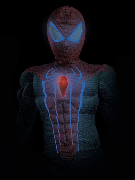 Spider Man Movie Muscle Light Up Boys Costume Light Up Costume
