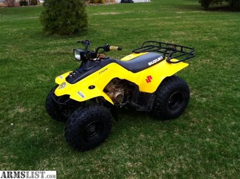 Suzuki 160 Atv Armslist For Sale Trade Suzuki Atv 160 Intermediate Size