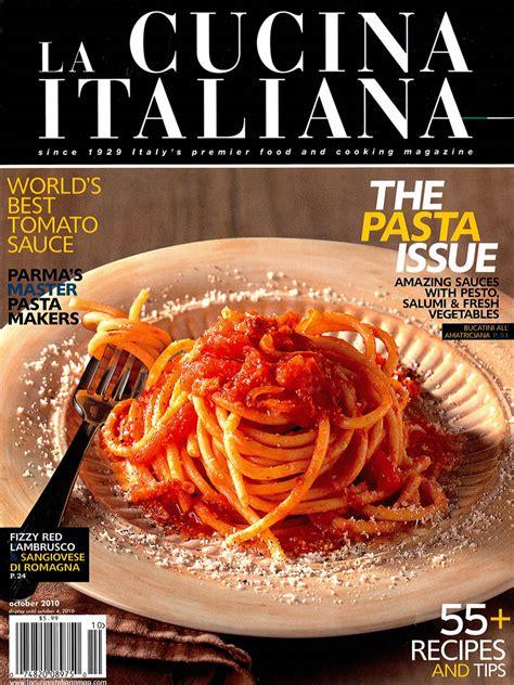 giornale cucina moderna 9 3 quot la cucina italiana quot vivit