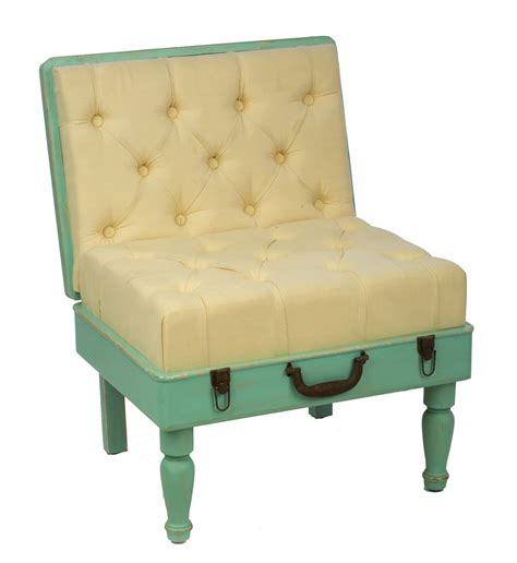 Mint Chair by Displaycollections Mint Padded Suitcase Chair