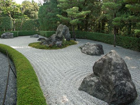 Zen Garden Rock The Terraces Walls Stairs And Fences In The Tsubo En Zen Garden