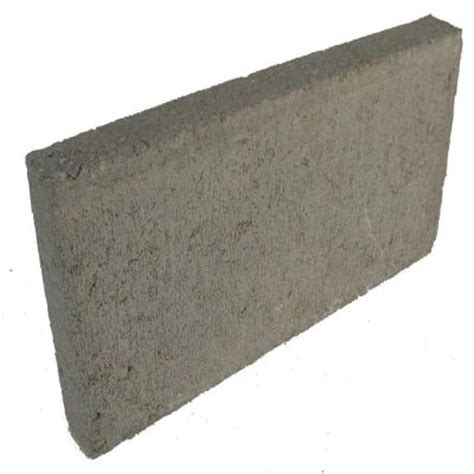 8 in x 2 in x 16 in concrete patio block s 3h