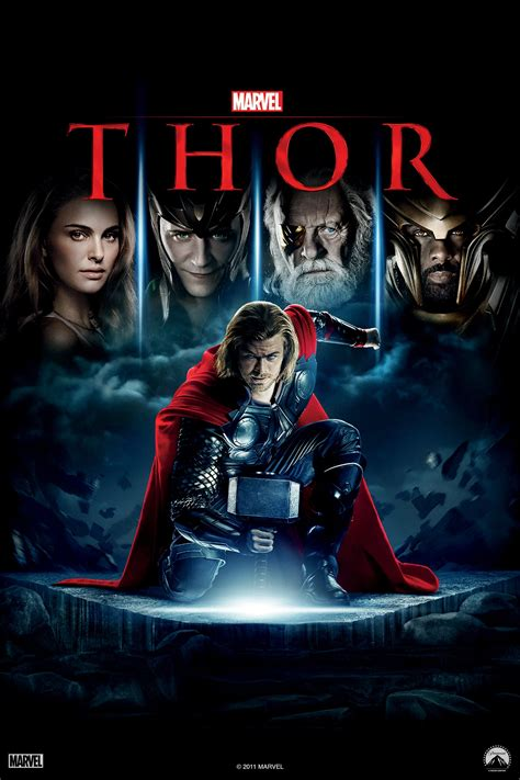 film thor completo in italiano thor 2011 posters the movie database tmdb