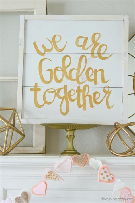 golden home decor diy golden decor ideas that will spice