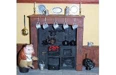 dolls house kitchen range hearth and home miniatures miniature dolls house kitchen ranges