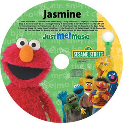 elmo song personalized elmo and friends cd sesame