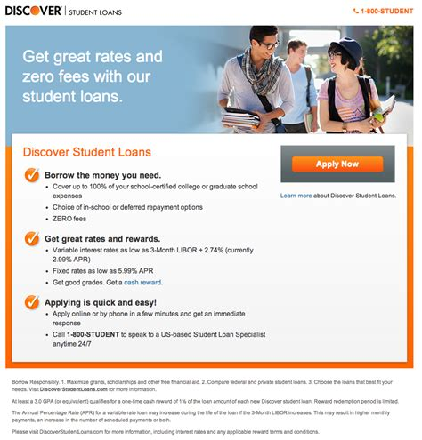 Mba Student Loan Rates by Discover Slashes Student Loans