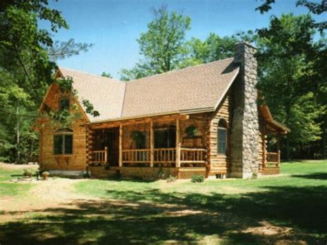 Log Style Homes | small log home house plans small log cabin living country