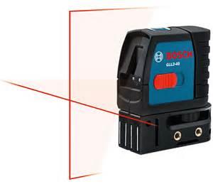 amazon com bosch gll2 40 self level cross line laser up to 30 feet home improvement