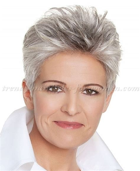 gradient grey hairstyles for 50 short hairstyles over 50 short grey hairstyle trendy